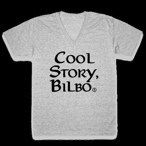 Cool Story, Bilbo V-Neck Tee Shirt