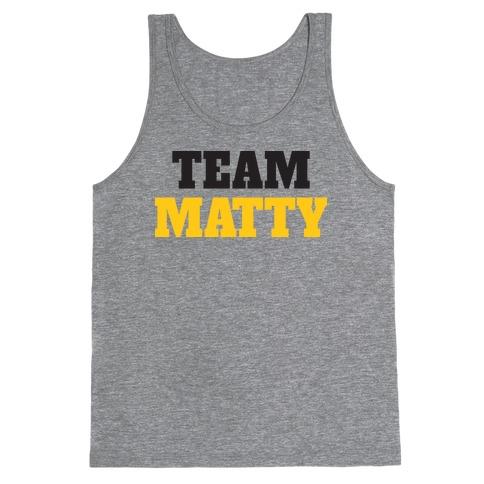 Team Matty (Tank) Tank Top