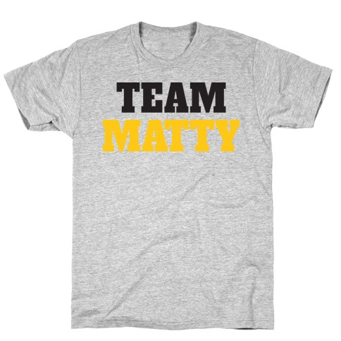 Team Matty (Tank) T-Shirt