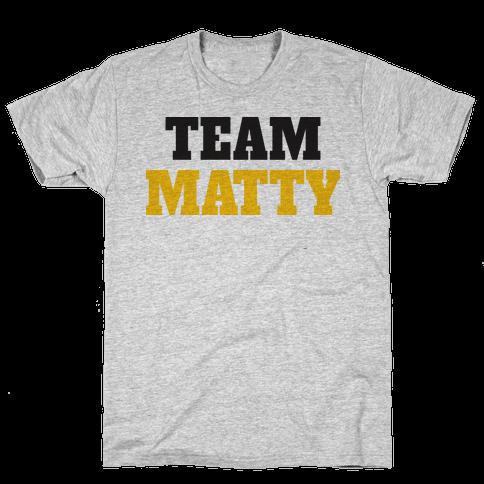 Team Matty (Tank) Mens T-Shirt