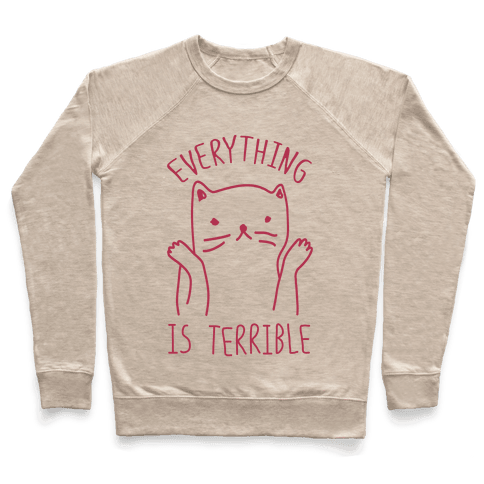 Everything Is Terrible Pullover