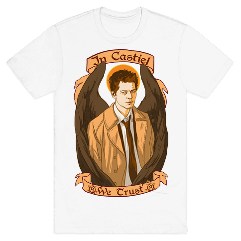 In Castiel We Trust Mens T-Shirt