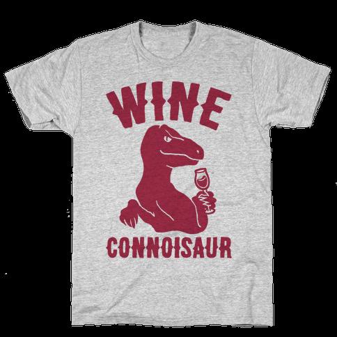 Wine Connoisaur Mens T-Shirt