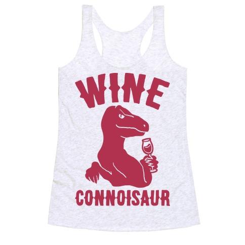 Wine Connoisaur Racerback Tank Top