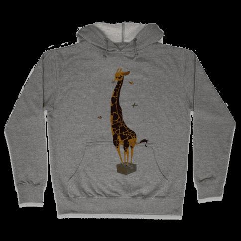 Stand Tall Giraffe Hooded Sweatshirt