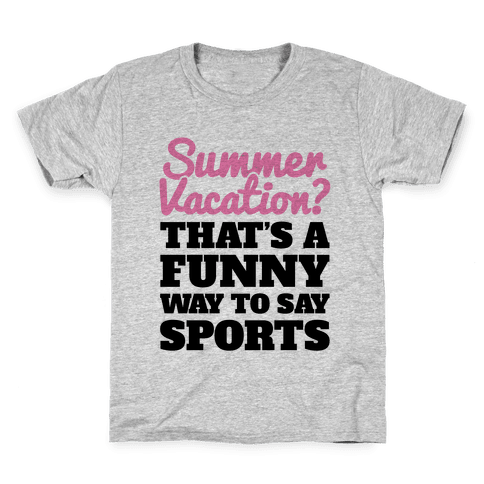 Summer Sports Kids T-Shirt