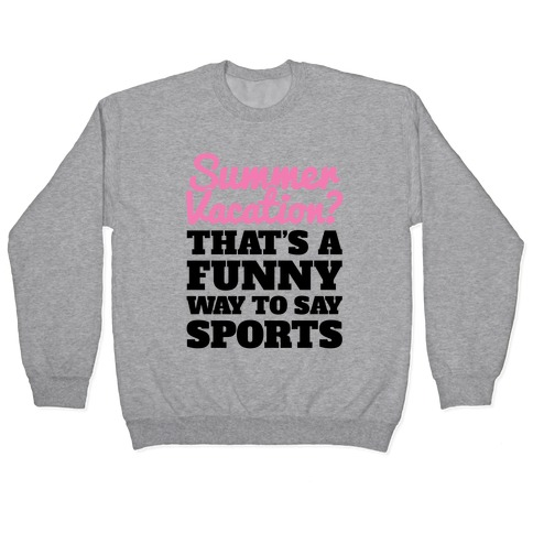 Summer Sports Pullover