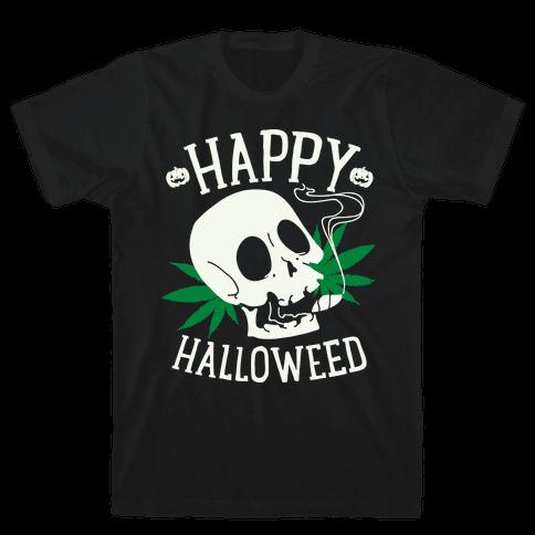 Happy Hallo-Weed Mens T-Shirt