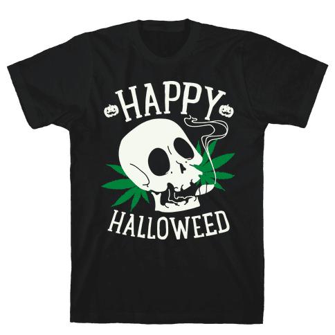 Happy Hallo-Weed Mens T-Shirt