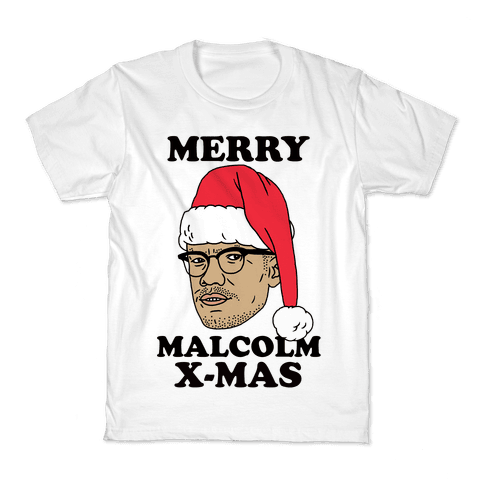 Malcolm X-Mas Kids T-Shirt