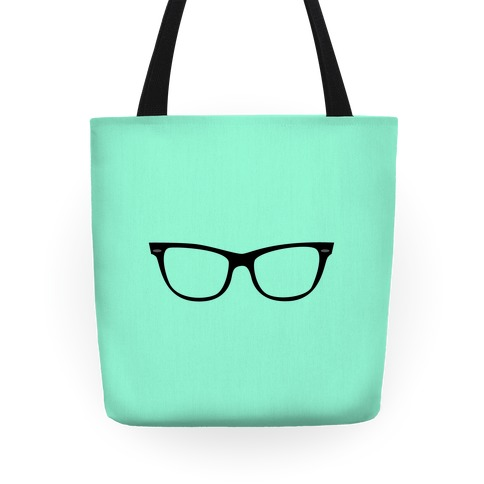 Mint Large Glasses Tote