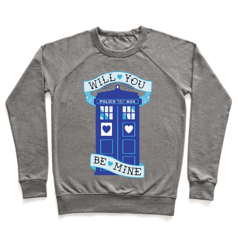 Will You Be Mine (Tardis) Pullover