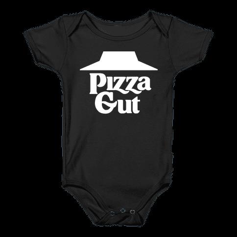 Pizza Gut Baby Onesy