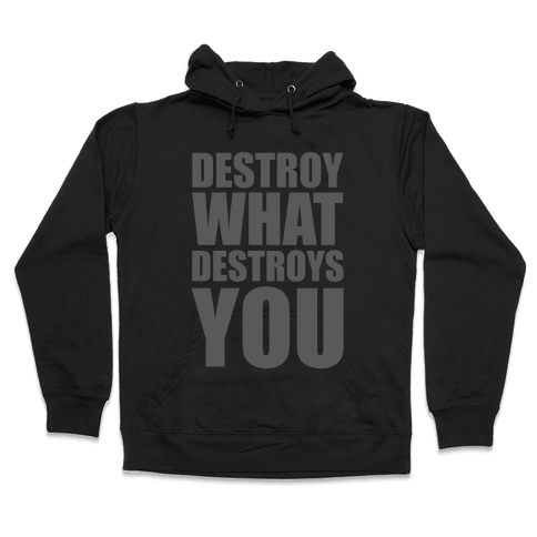 Destroy What Destroys You Hooded Sweatshirt