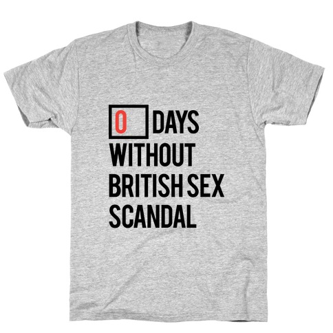 British Sex Scandal T-Shirt