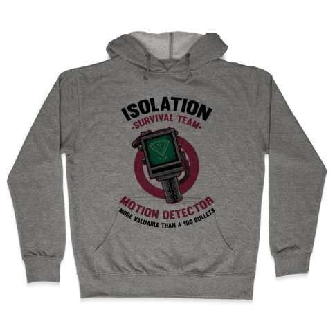 Isolation Survival Team Motion Detector Hooded Sweatshirt