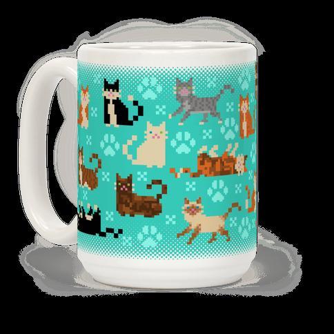 Cute Pixel Kitty Cats