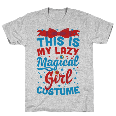 This Is My Lazy Magical Girl Costume Mens T-Shirt