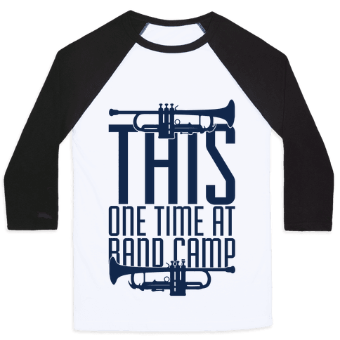Band Camp Baseball Tee