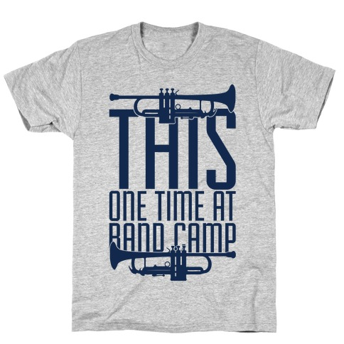 Band Camp Mens T-Shirt