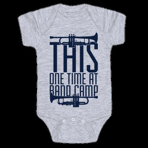 Band Camp Baby Onesy