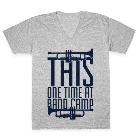 Band Camp V-Neck Tee Shirt
