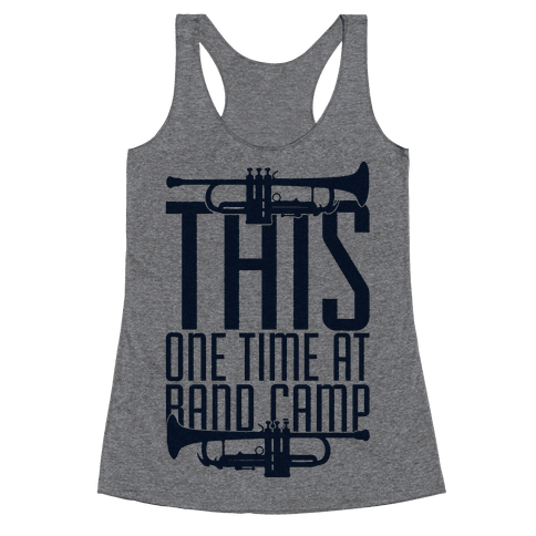 Band Camp Racerback Tank Top
