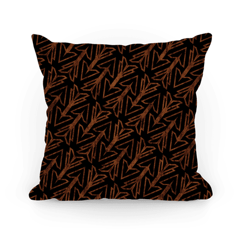 Dark Arrow Pillow Pillow