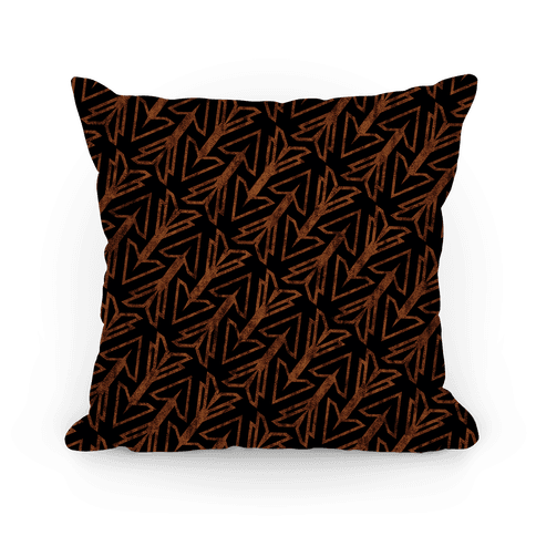 Dark Arrow Pillow
