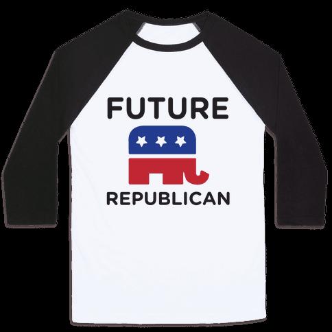 Future Republican Baseball Tee