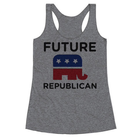 Future Republican Racerback Tank Top
