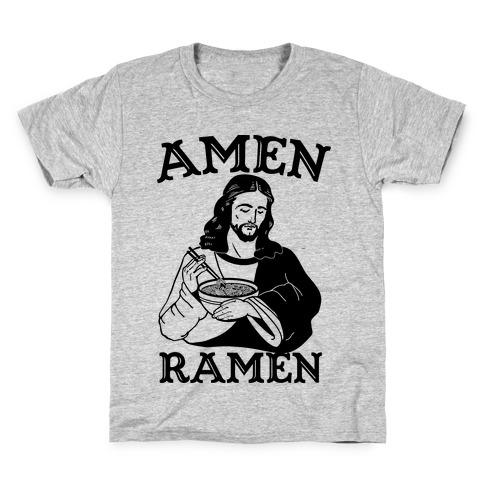 Amen Ramen Kids T-Shirt