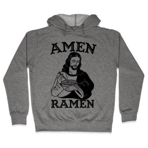 Amen Ramen Hooded Sweatshirt