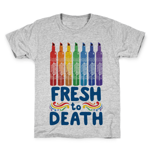 Fresh To Death Kids T-Shirt