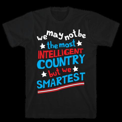 Smartest Country Mens T-Shirt