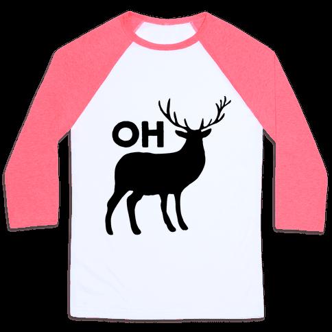 Oh Deer Baseball Tee