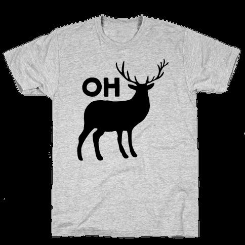 Oh Deer Mens T-Shirt