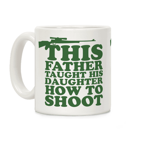 This Father Taught His Daughter How to Shoot