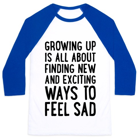 Growing Up Baseball Tee