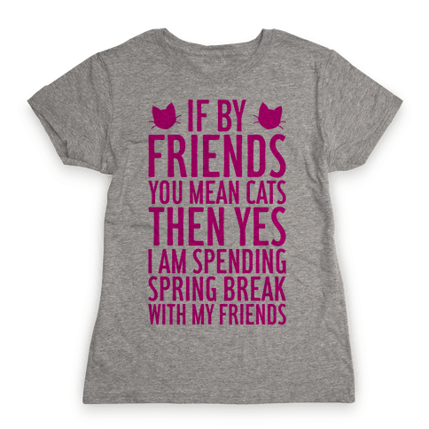 Spring Break With Friends Womens T-Shirt