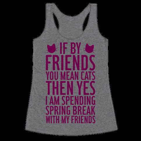 Spring Break With Friends Racerback Tank Top