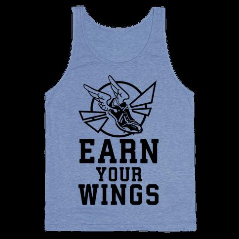 Earn Your Wings Tank Top
