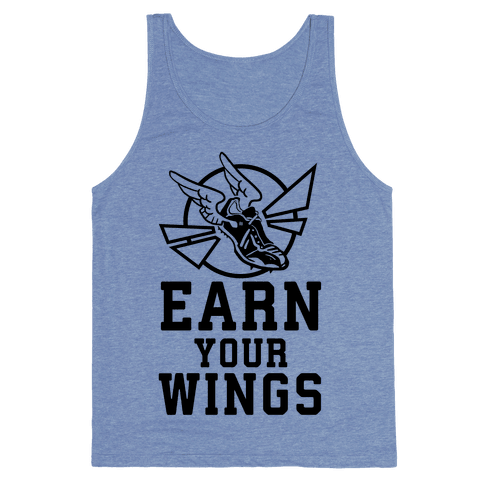 Earn Your Wings Tank Top