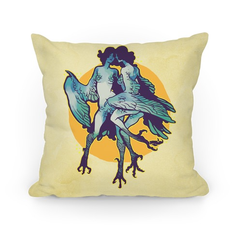 Harpy Monster Girls Pillow Pillow