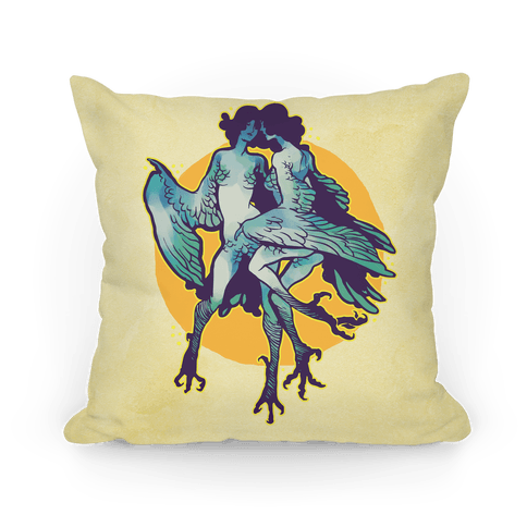Harpy Monster Girls Pillow