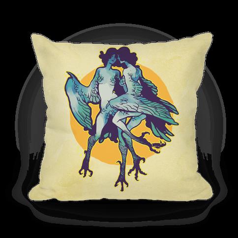 Harpy Monster Girls Pillow