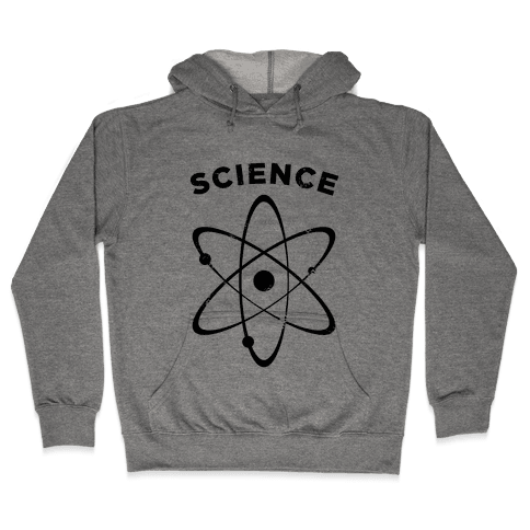Science (Atom) Vintage Hooded Sweatshirt