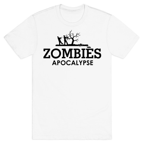 Zombies High Fashion Parody Mens T-Shirt