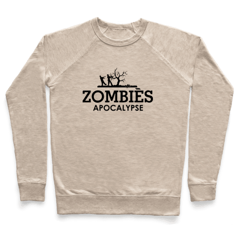Zombies High Fashion Parody Pullover