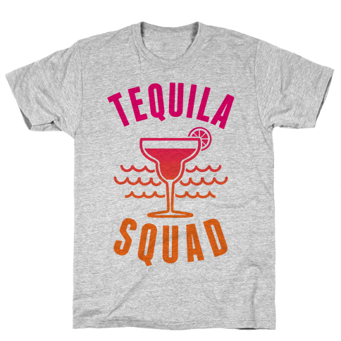 Tequila Squad Mens T-Shirt